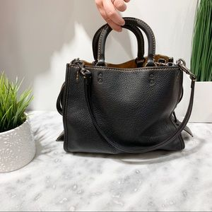Big Coach Shoulder Bag